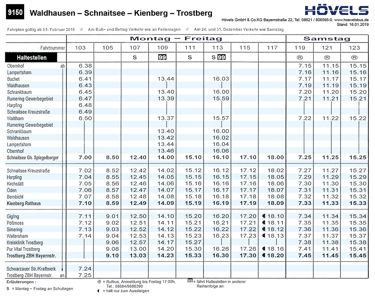 Hoevels-Bus-Linie-9150-Waldhausen-Schnaitsee-Kienberg-Trostberg